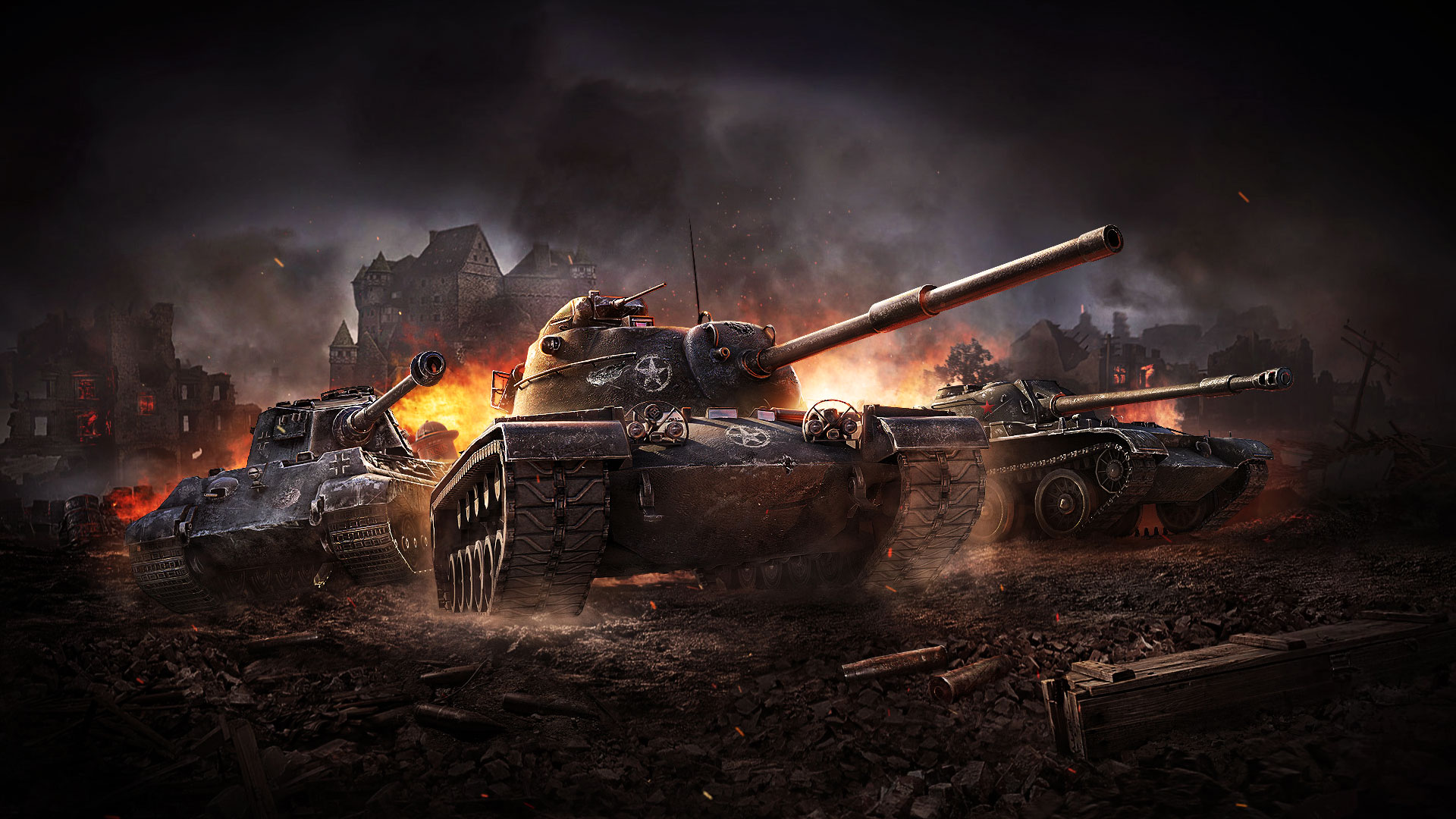 World Of Tanks Blitz Gets A Halloween Themed Combat Event