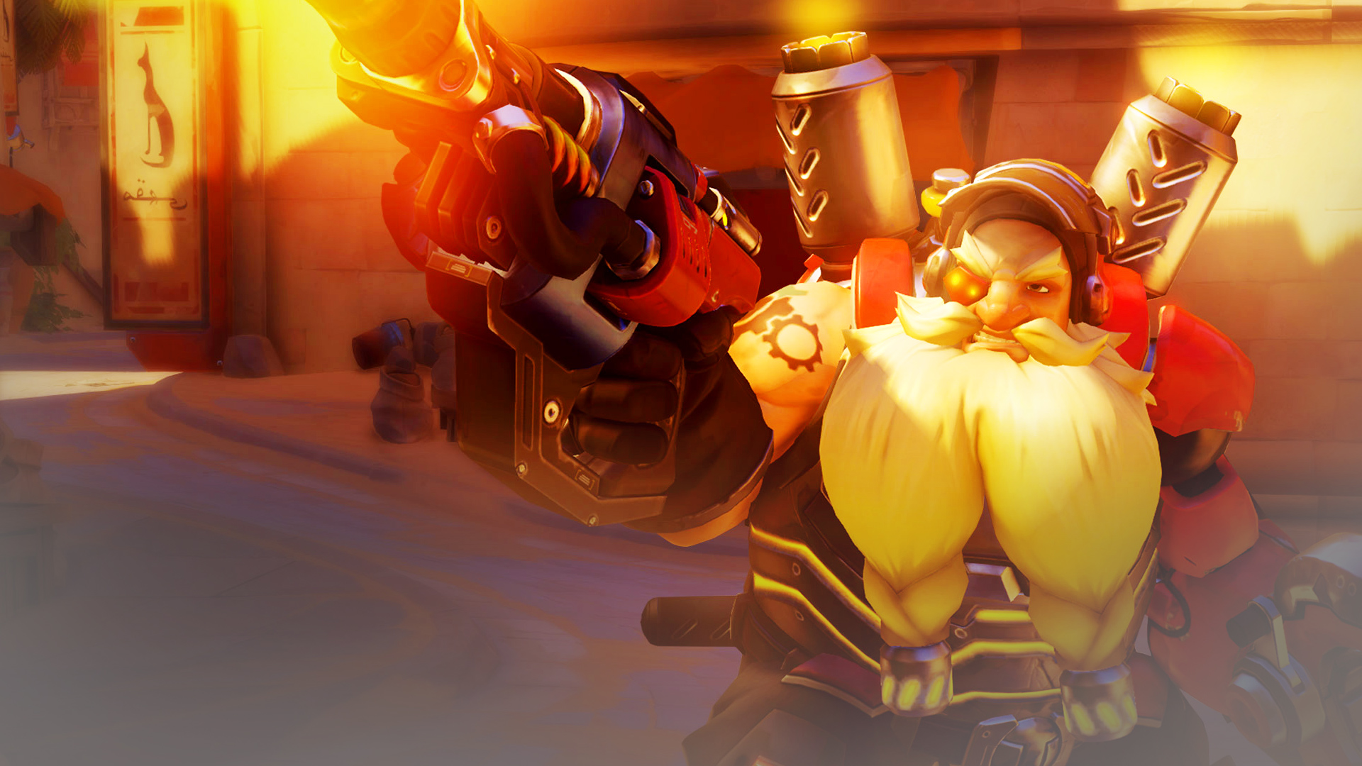 watch a skilled overwatch torbjorn player save his teammate s life