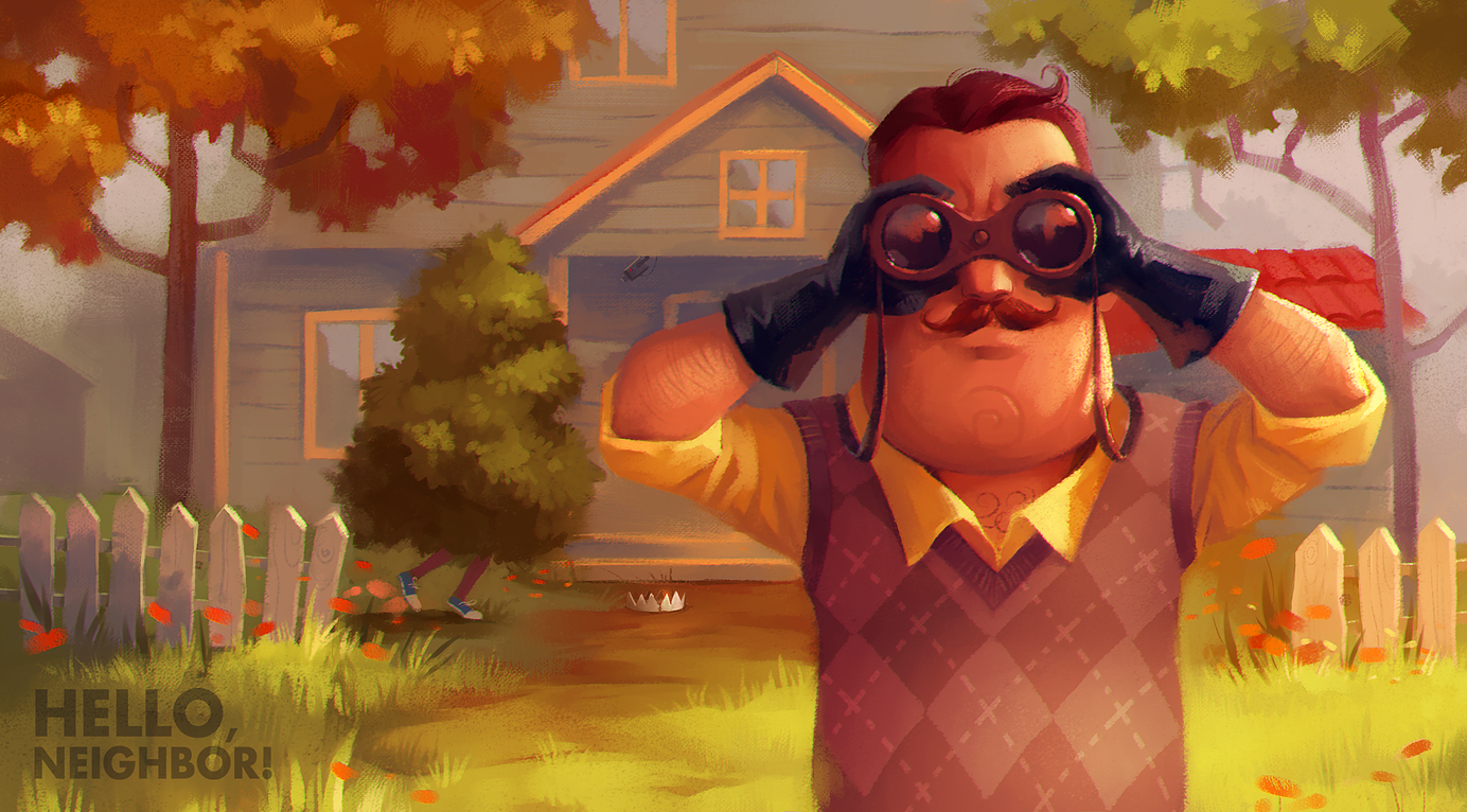 Play Alpha of the Hello Neighbor Game for Free | AllGamers