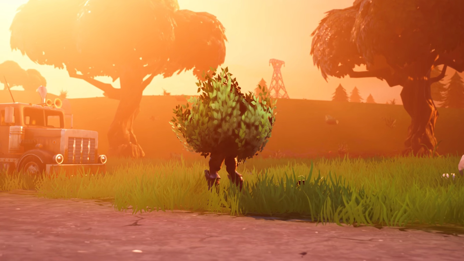 How to Use the Bush in Fortnite Battle Royale | AllGamers