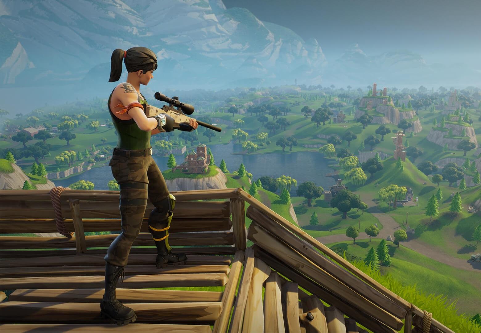Rare Zapotron Sniper Found In Fortnite Battle Royale Allgamers