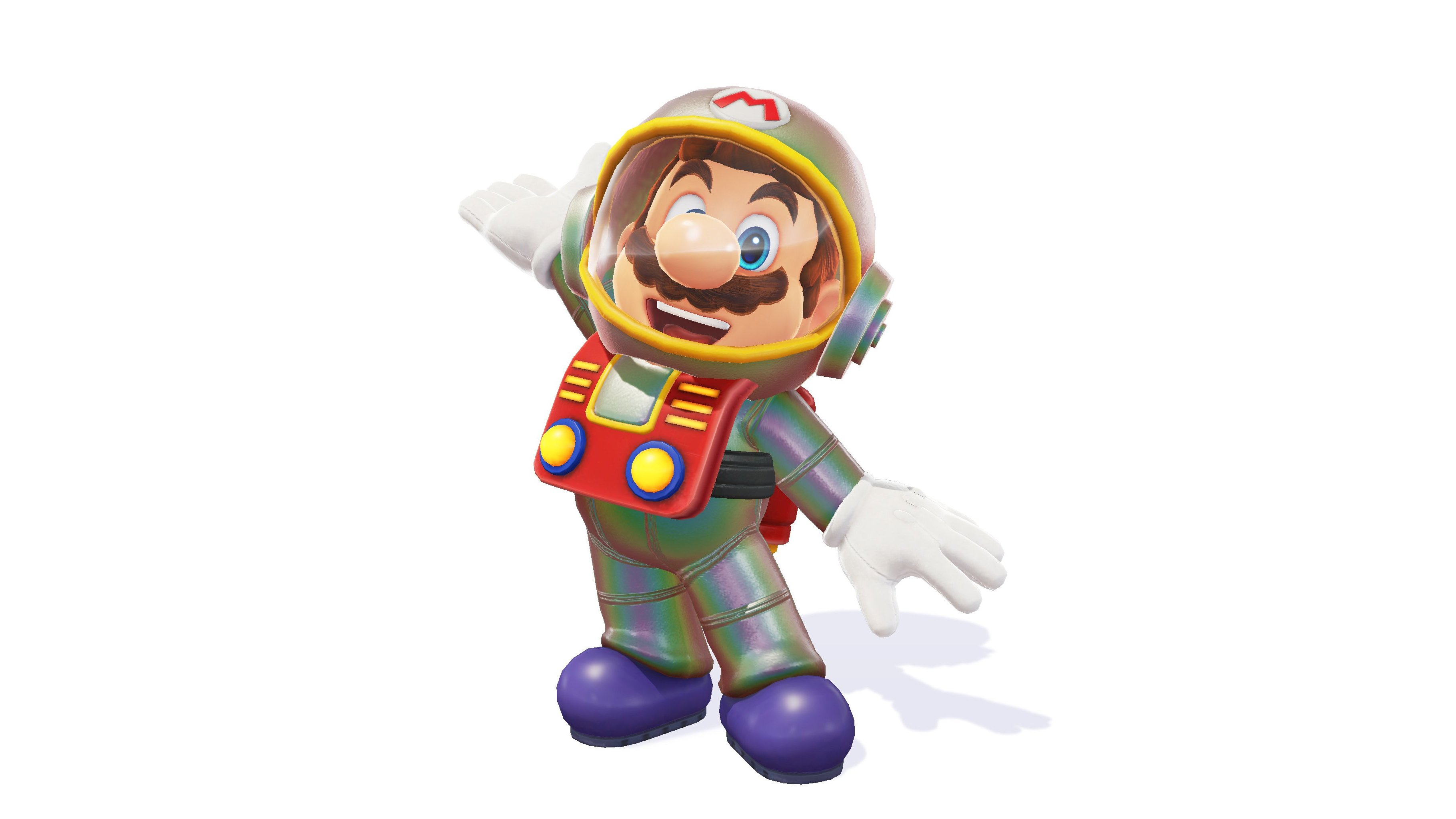New spacesuit and baseball outfit in Mario Odyssey shop ...