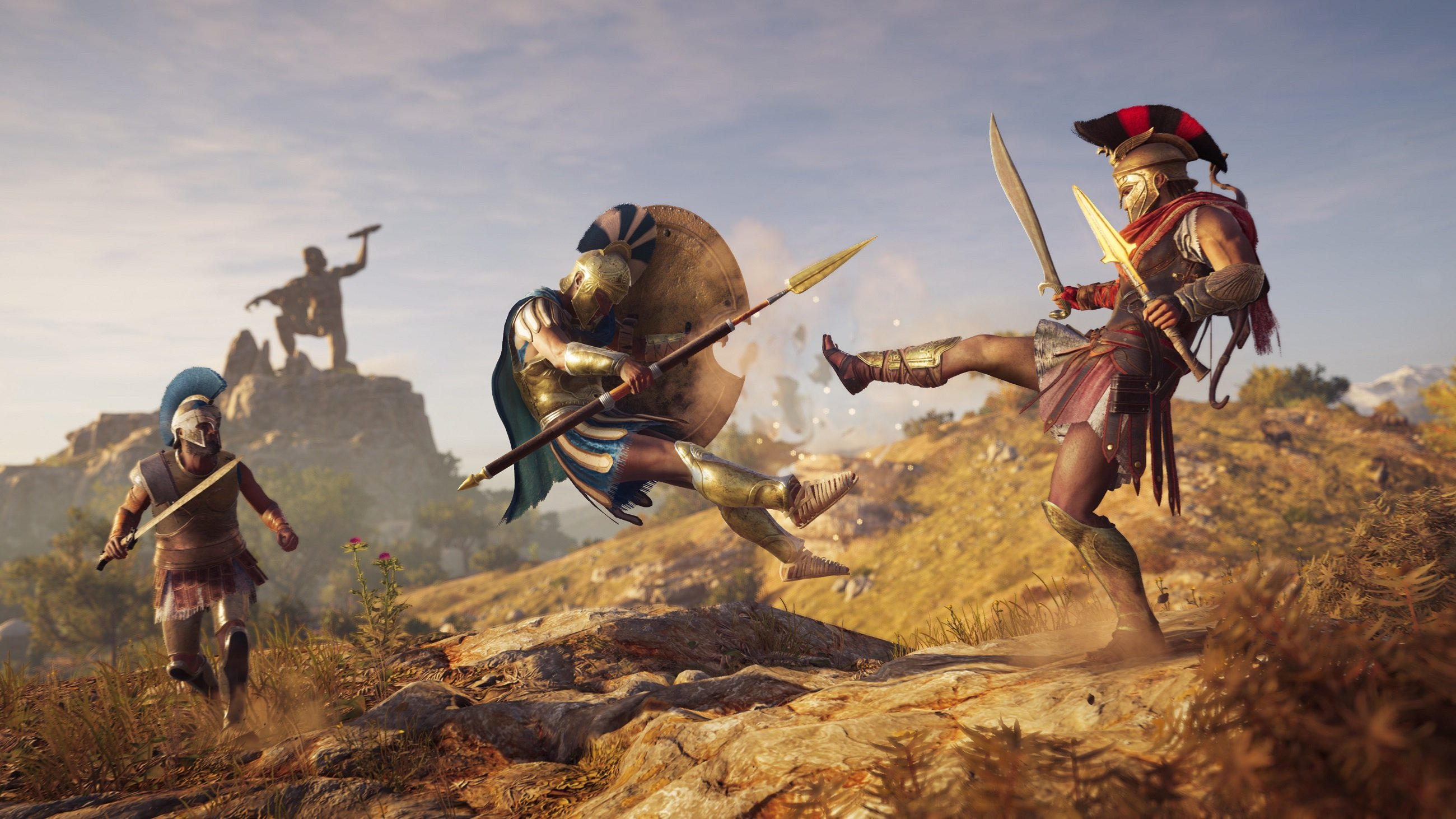 How to upgrade the Spear of Leonidas in Assassin's Creed