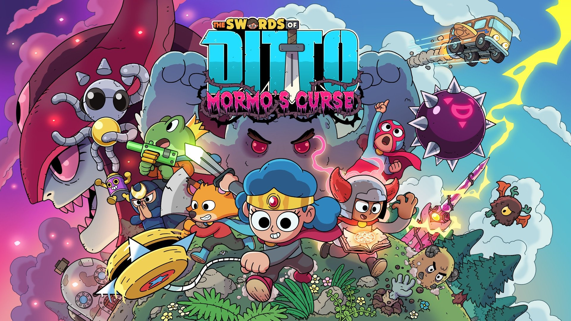 The Swords of Ditto: Mormo's Curse brings expanded indie RPG to