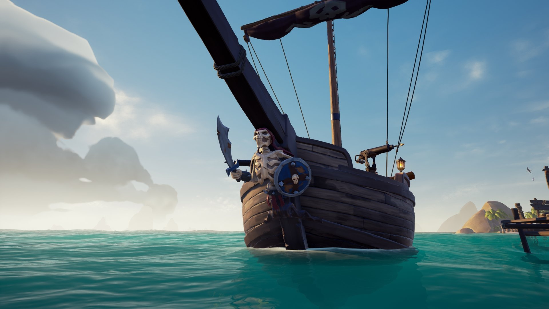 How to get the Spinal Figurehead in Sea of Thieves | AllGamers