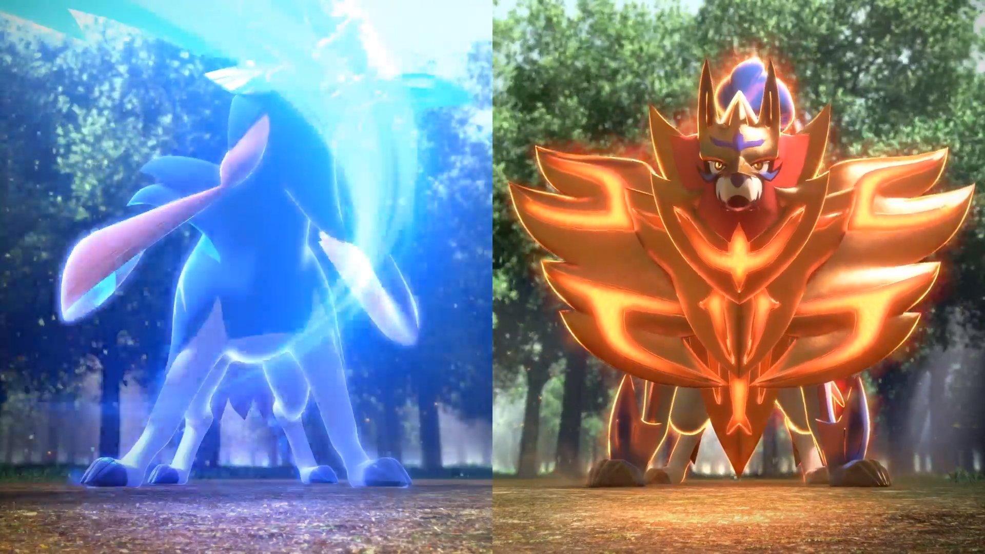 Pokemon Sword And Shield Legendaries Revealed Allgamers