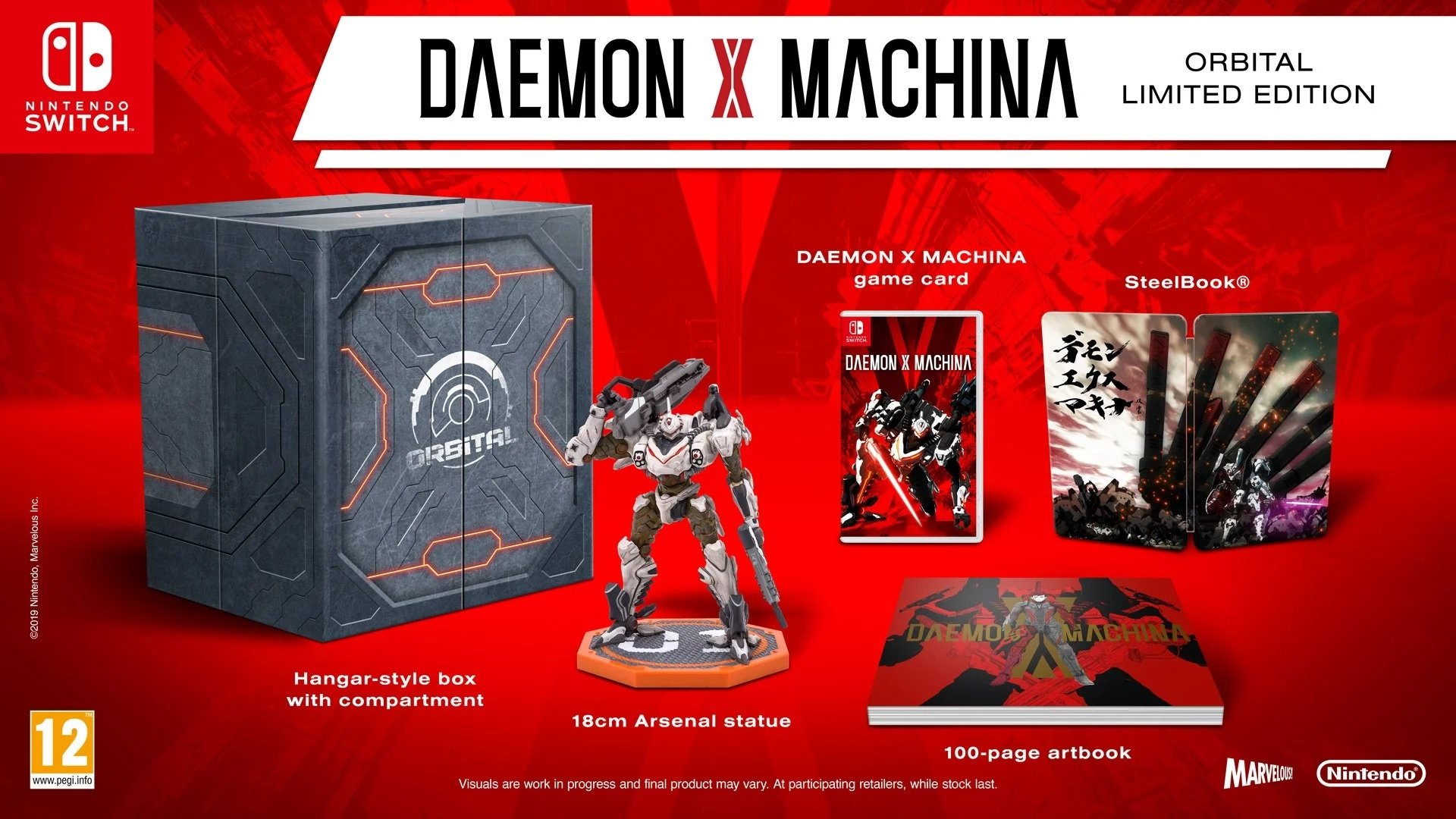 Daemon X Machina limited edition comes with a mech (for ...