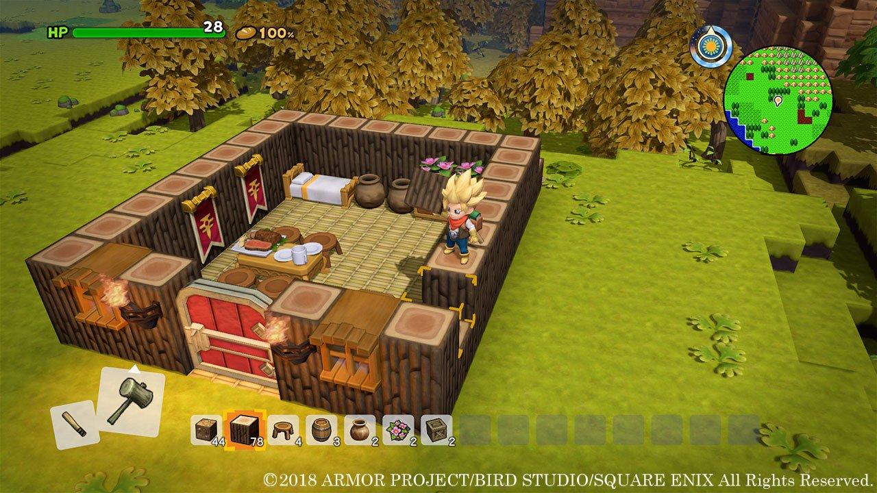 All Dragon Quest Builders 2 Room Recipes Allgamers