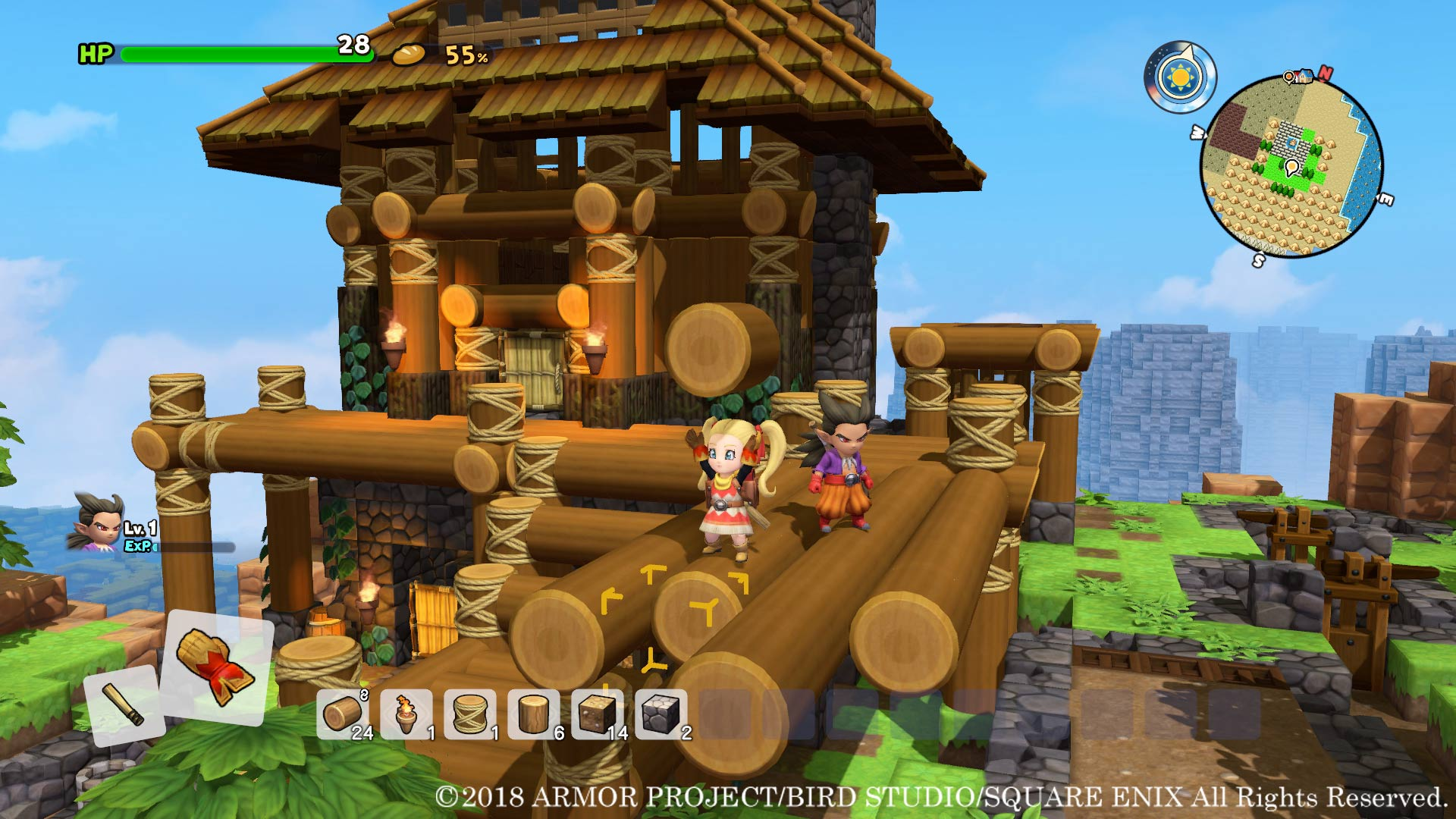 Dragon Quest Builders 2 Room Size Luxury And Mood Guide Allgamers