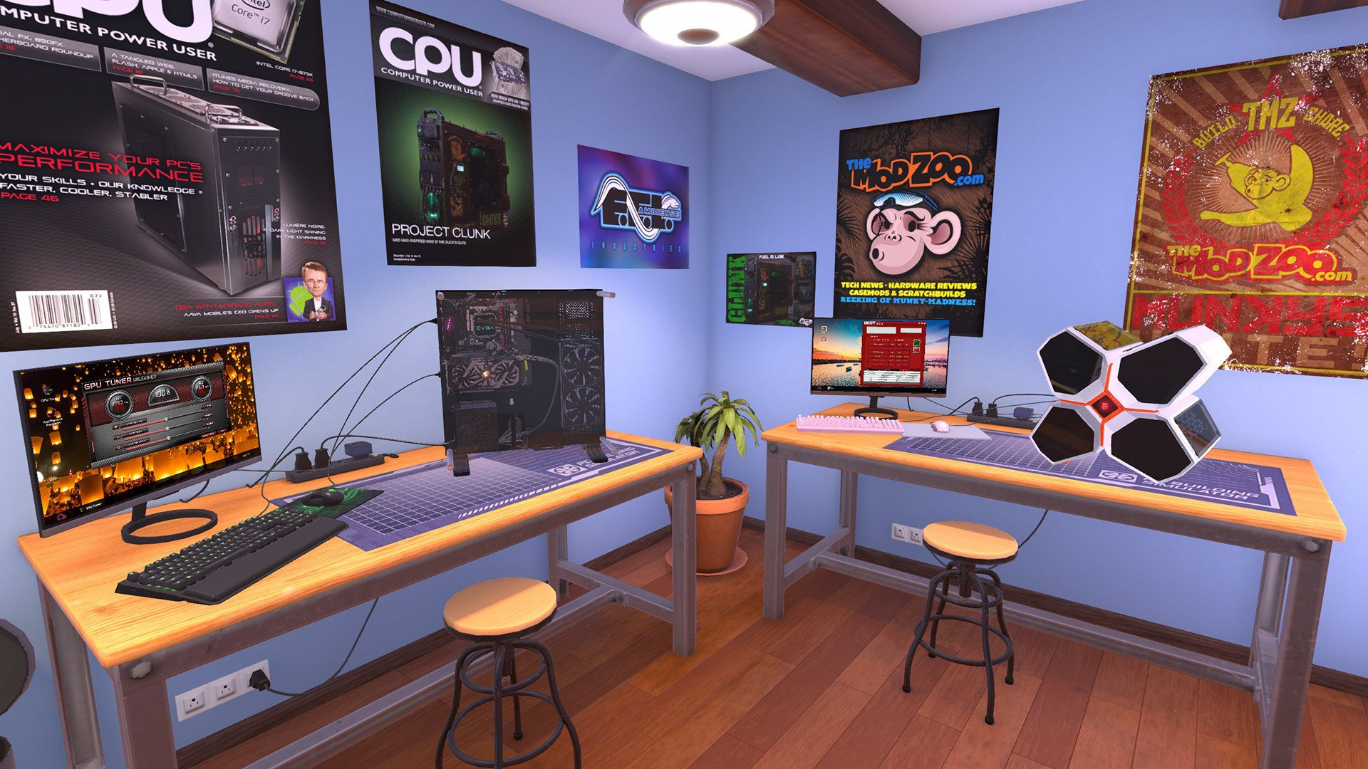 pc building simulator available on console allgamers. Black Bedroom Furniture Sets. Home Design Ideas