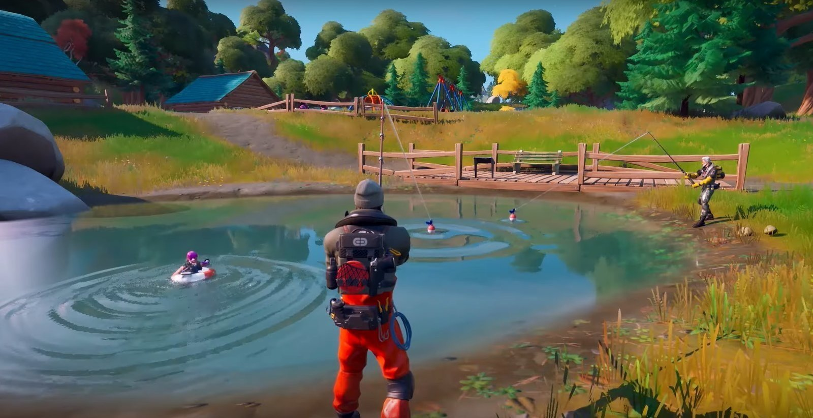 Fortnite Chapter 2 Map Revealed With Plenty Of Water Allgamers