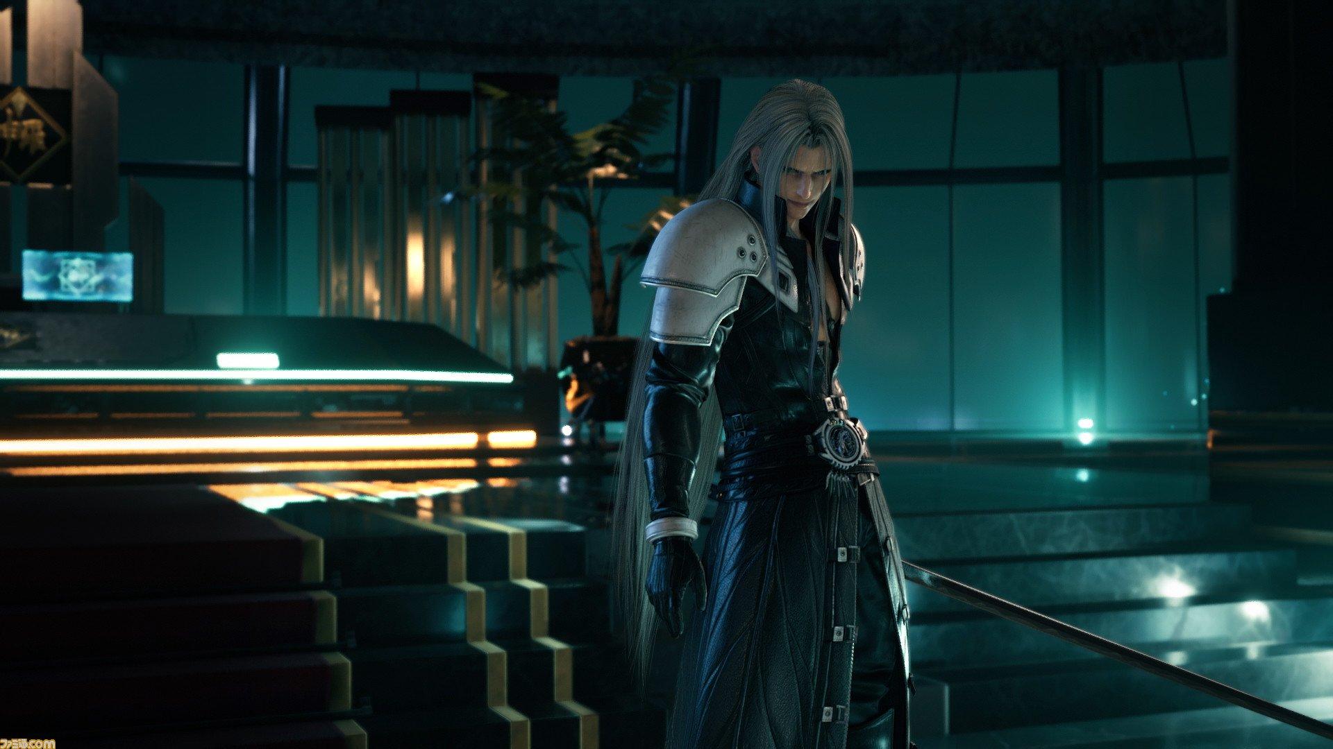 Latest Ff7 Remake Art And Screenshots Show Off Sephiroth S