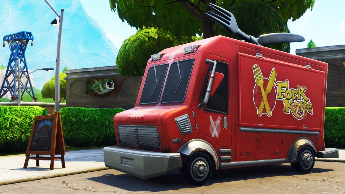 Where to find Food Trucks in Fortnite Chapter 2 Season 1 ...