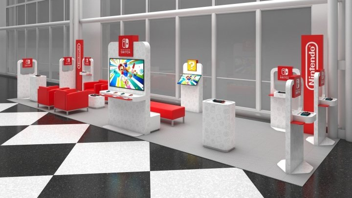 Nintendo is putting Switch lounges in select US airports