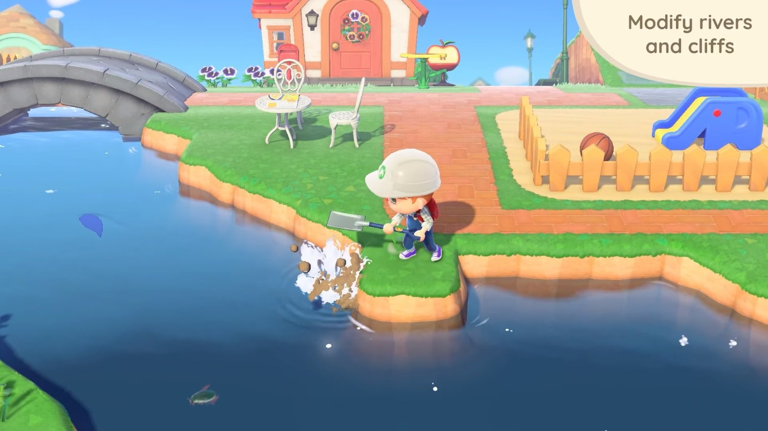How to change rivers and cliffs in Animal Crossing: New ...
