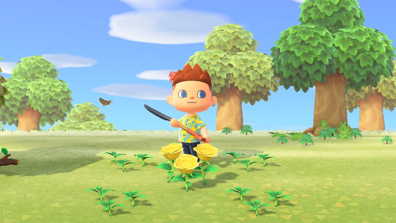 Animal Crossing New Horizons How To Grow Golden Flowers