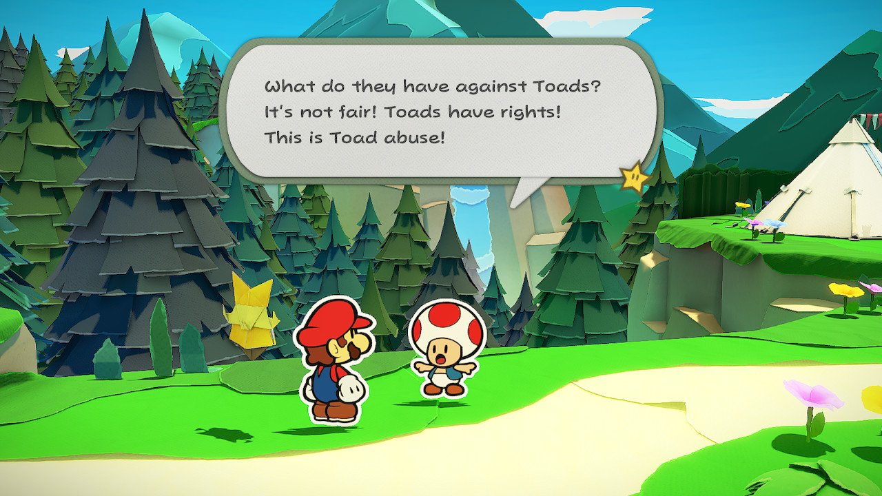 Paper Mario: The Origami King Toad locations in Whispering ...