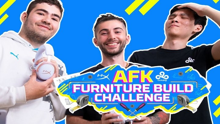 Cloud9 faces their toughest teamwork test of all: building furniture