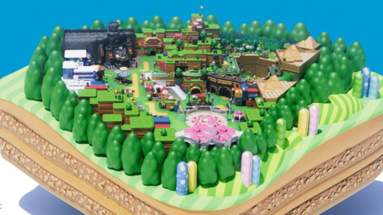 Take a stroll through Super Nintendo World with the park's new website