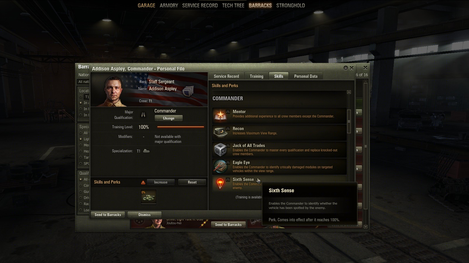 World of Tanks - Crew Skills and Perks Guide | AllGamers