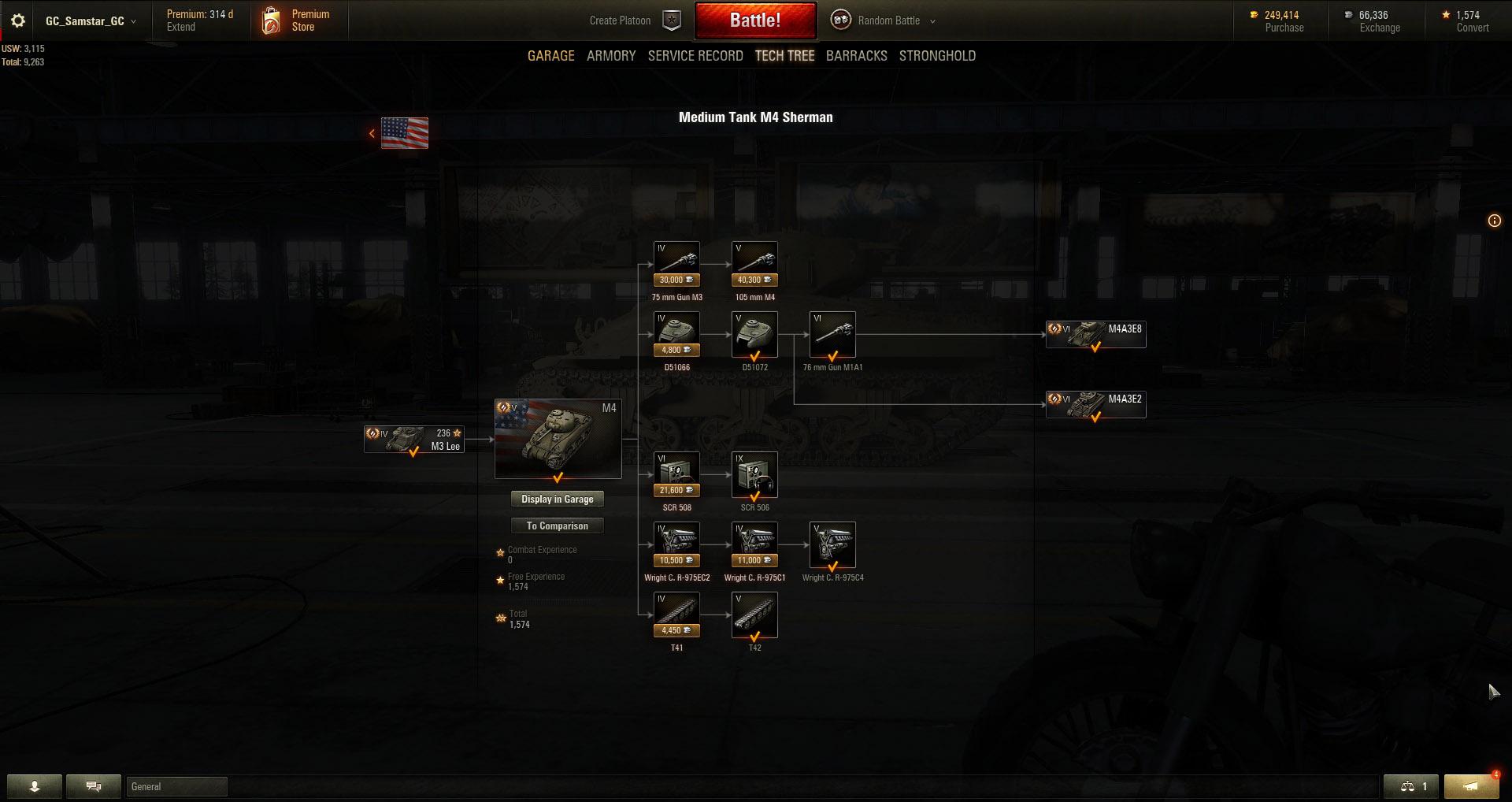 M4 Sherman Modules