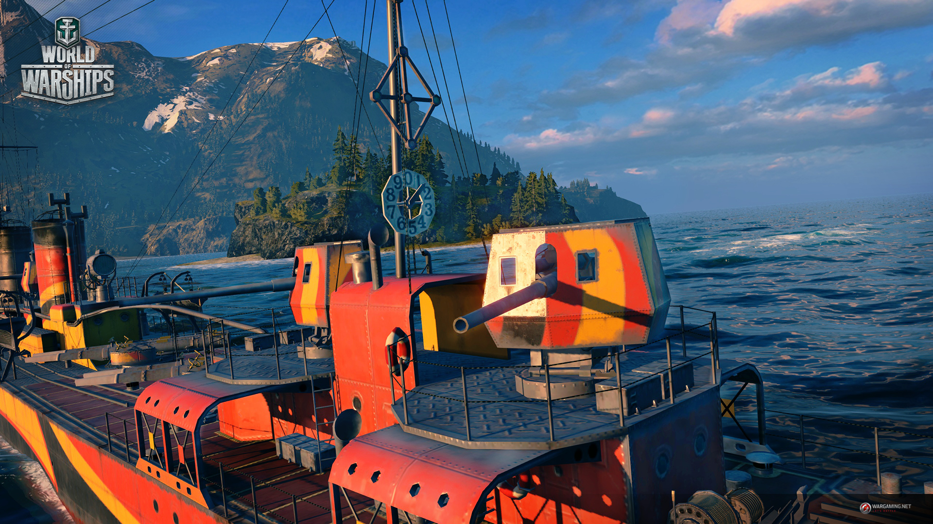World of Warships Tides of Fury