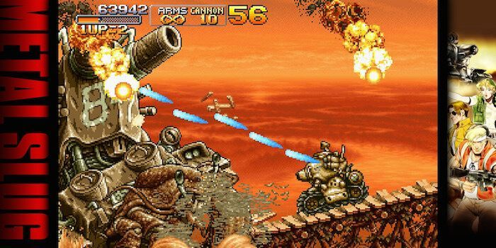 Super Vehicle Type 001, or more commonly, the Metal Slug