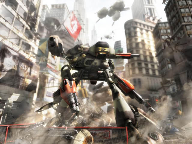 Phantom Crash was a cult-hit mech game set in a futuristic Tokyo where players fought all manner of mechs!