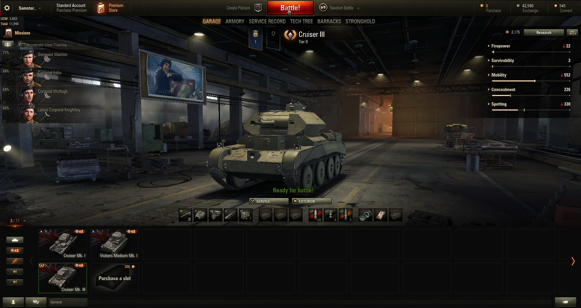 Kick back, have some fun, and just start playing World of Tanks to help you improve!