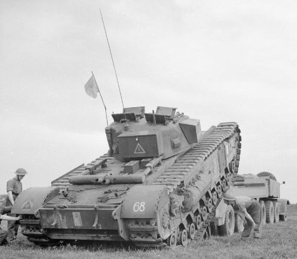 Thank you to Tank-Hunter.com for the above image of the Churchill Tank