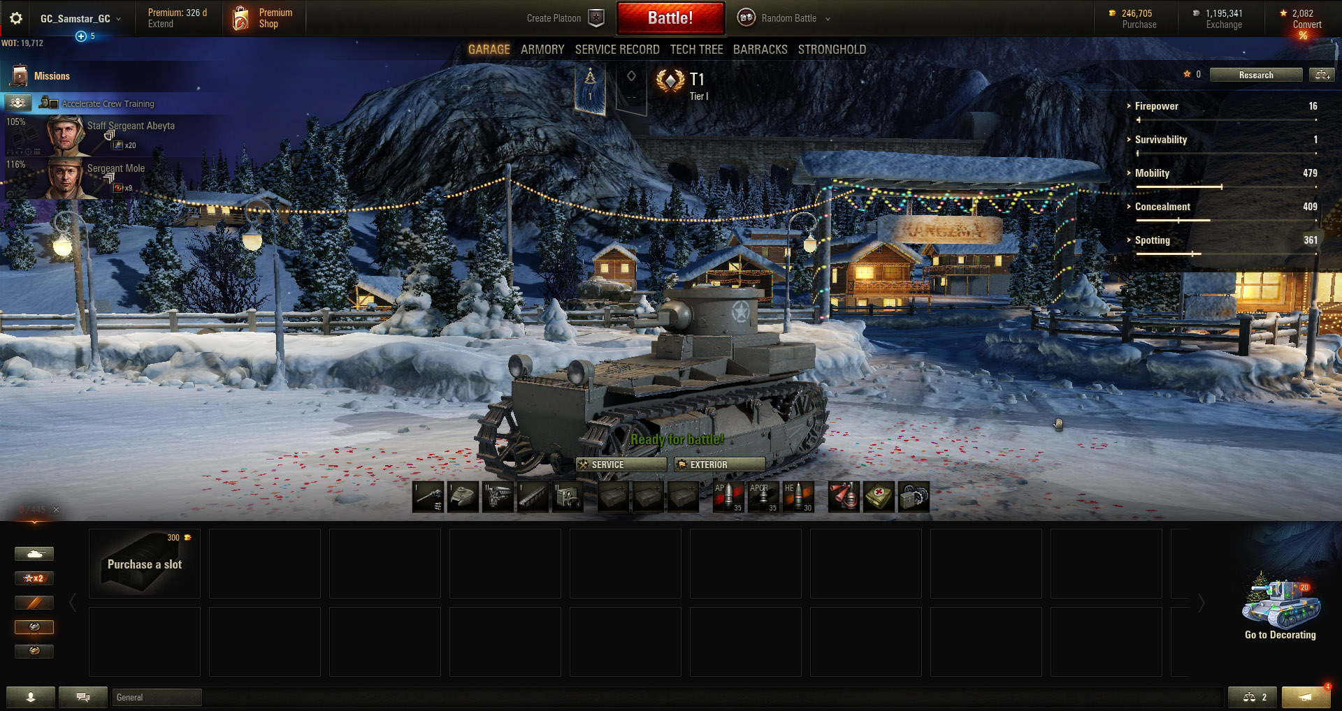 The T1 Cunningham is a nimble Tier 1 light tank from the USA tech tree.