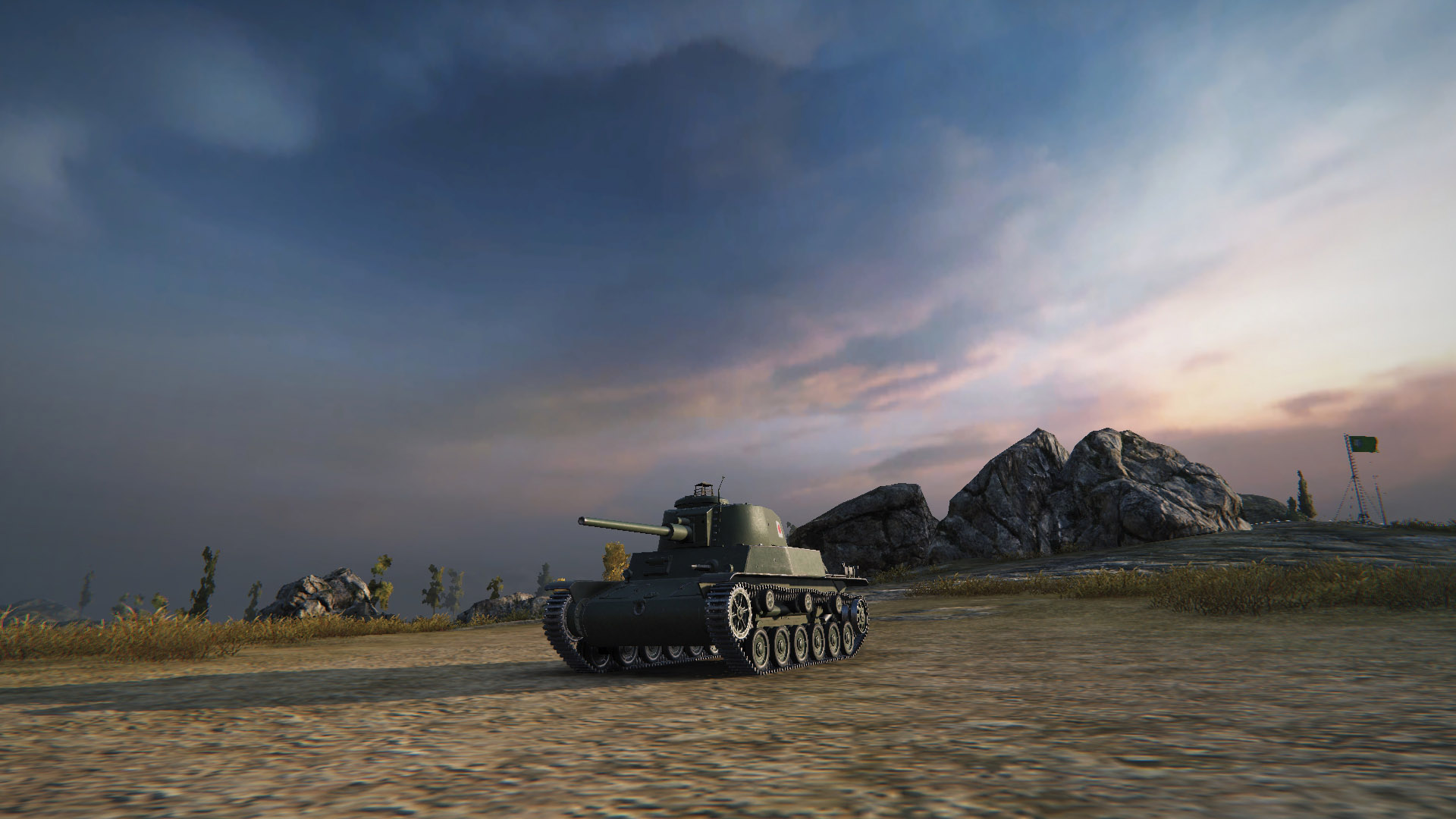 Similar to the Covenanter, the Type 5 Ke-Ho is ideal for fast manoeuvring and dishing out damage with its surprisingly powerful gun.