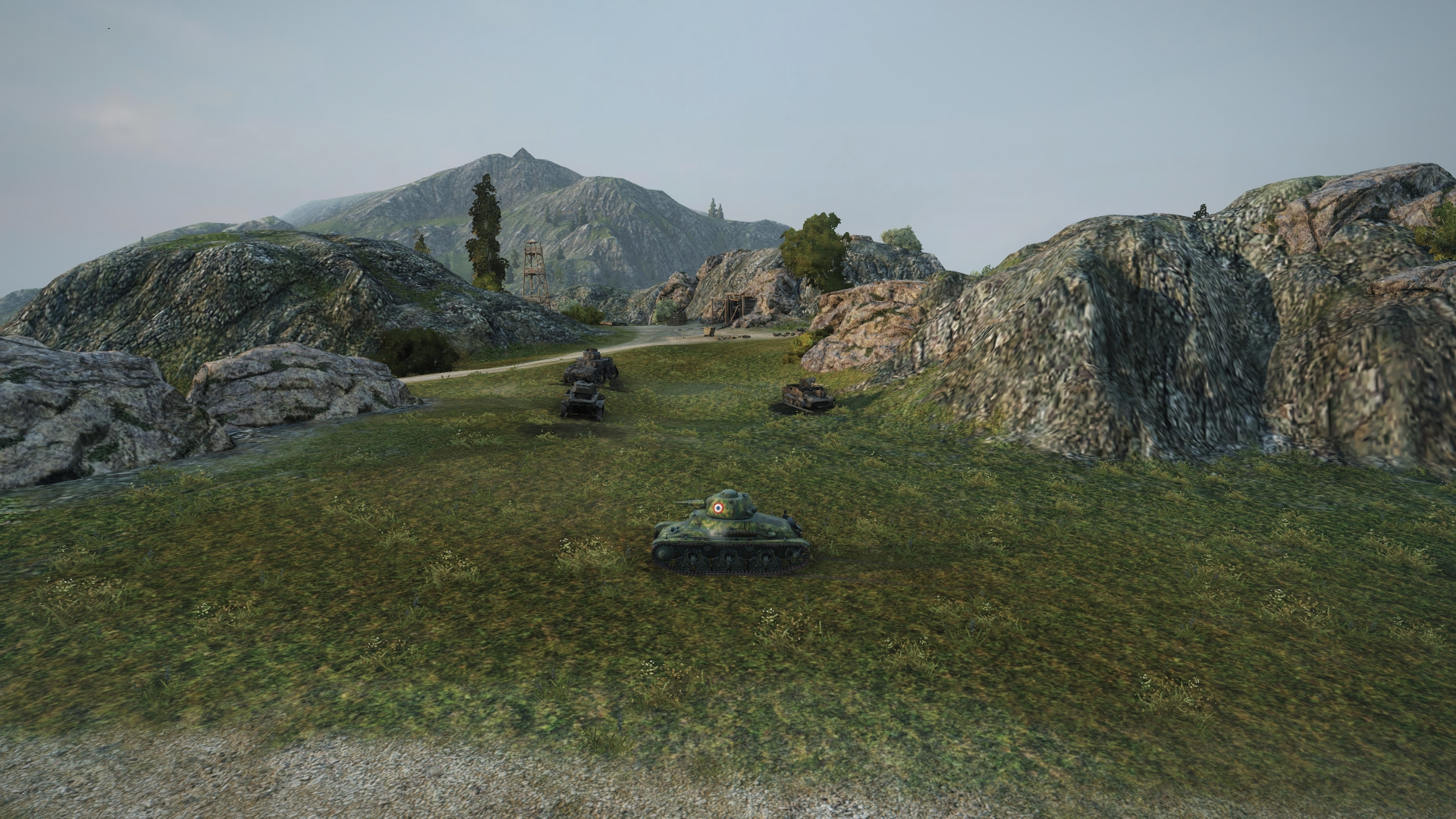 Tank battlegrounds mines map strategy allgamers secure the top of the hill quickly to gain an elevation advantage over your opponents gumiabroncs Images