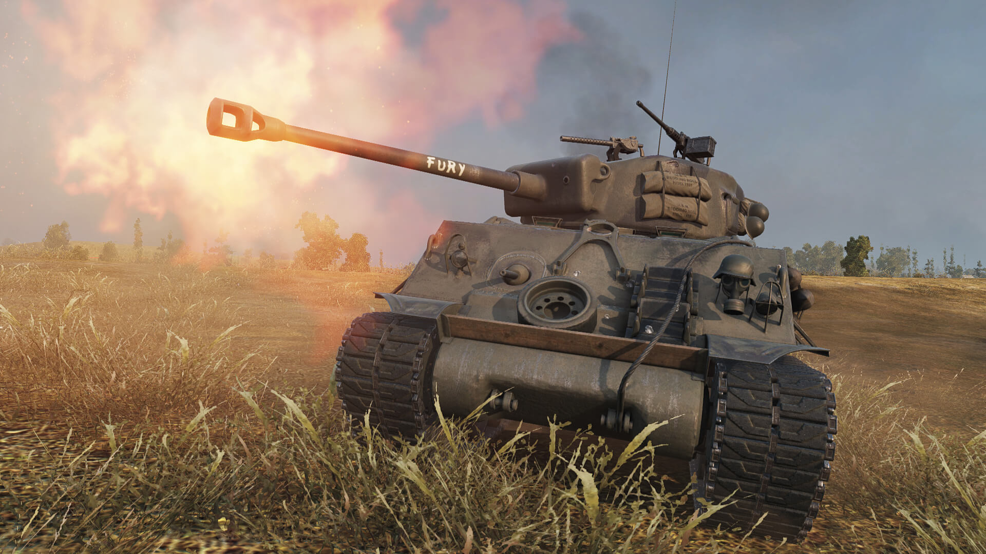 The Fury Makes a Return to the World of Tanks Premium Shop | AllGamers