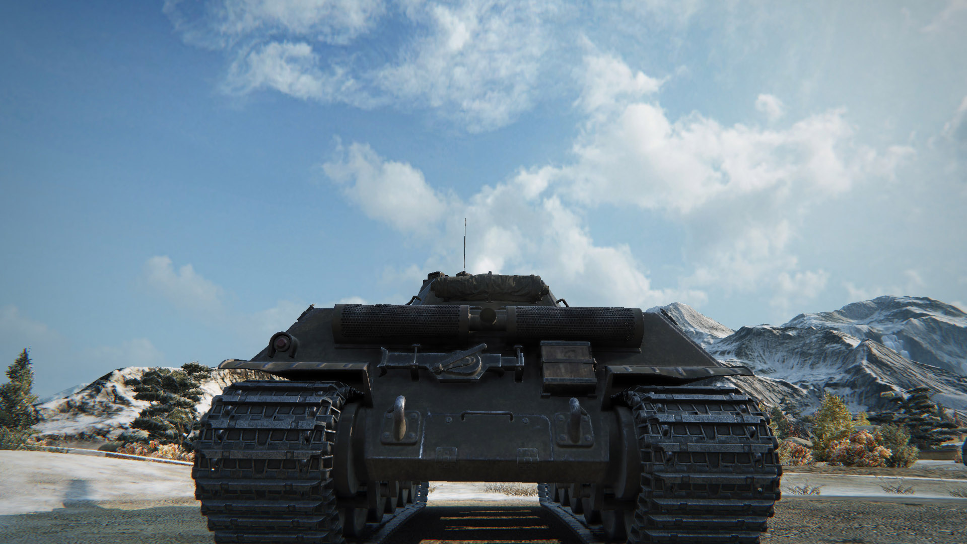 Name that tank! If you can guess it from this single image, I'll be impressed.