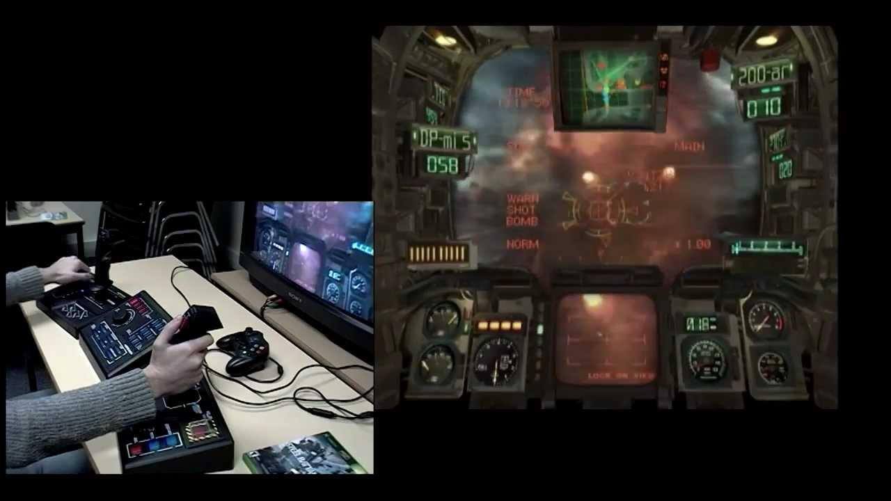The chances of you having played this game are slim, but if you got your hands on Steel Battalion, you'll remember the impressive controller.