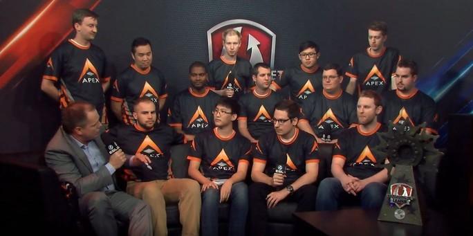 Last season's championship team was Apex.