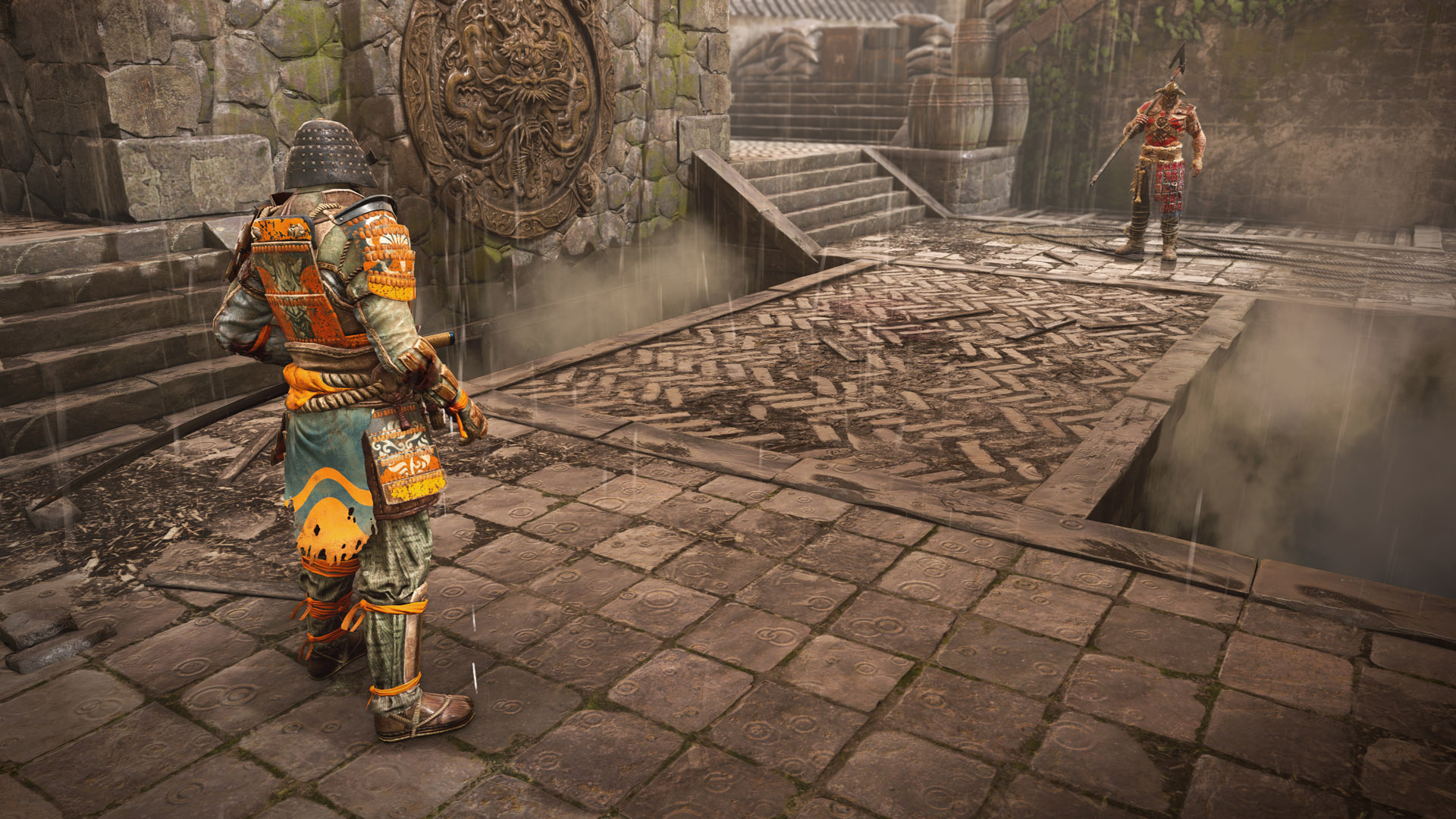 The Orochi is another one of the best characters in For Honor. As a Hybrid, the Orochi is an interesting beast, offering fast attacks and high mobility as its tool to take down enemies.