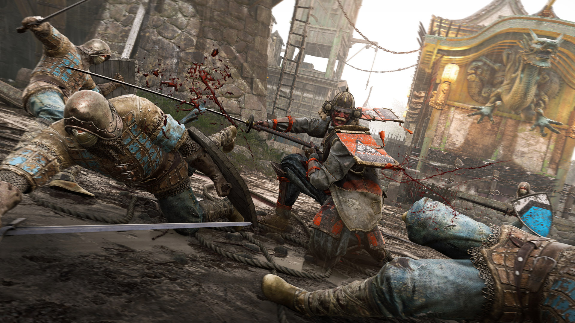 The best Faction in For Honor at this present moment would have to be the Samurai. Featuring long-range bleeders, fast attacks, and powerful Vanguard-types, the Samurai are an unstoppable force on the battlefield.