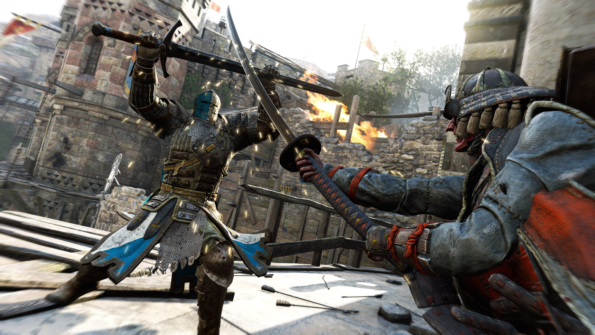 Blocking is extremely useful in For Honor, but too often people spam Guard Break. Be sure to keep an eye out so you can quickly counter their Guard Break and sneak in more attacks!