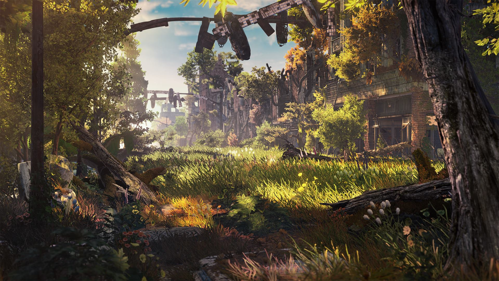 Collect resources in Horizon: Zero Dawn