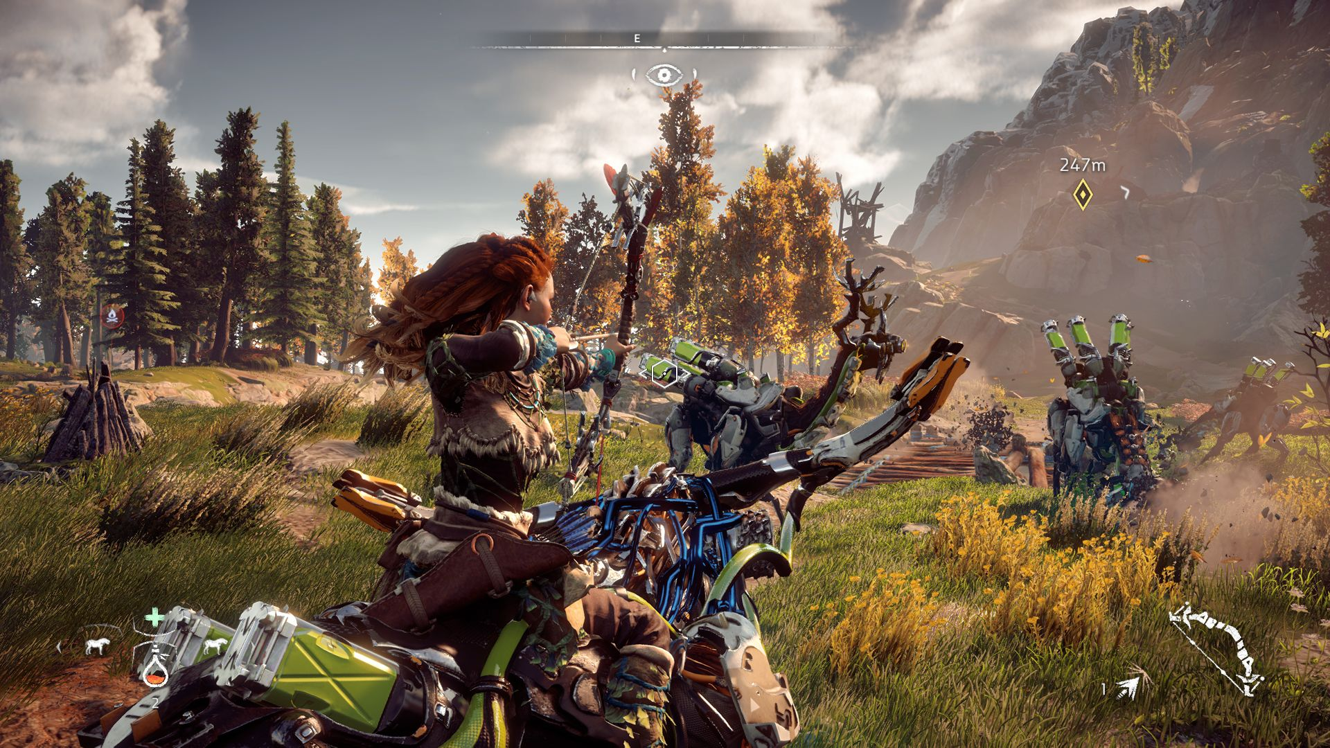 Upgrading the amount of storage Aloy has in Horizon: Zero Dawn is a no-brainer.