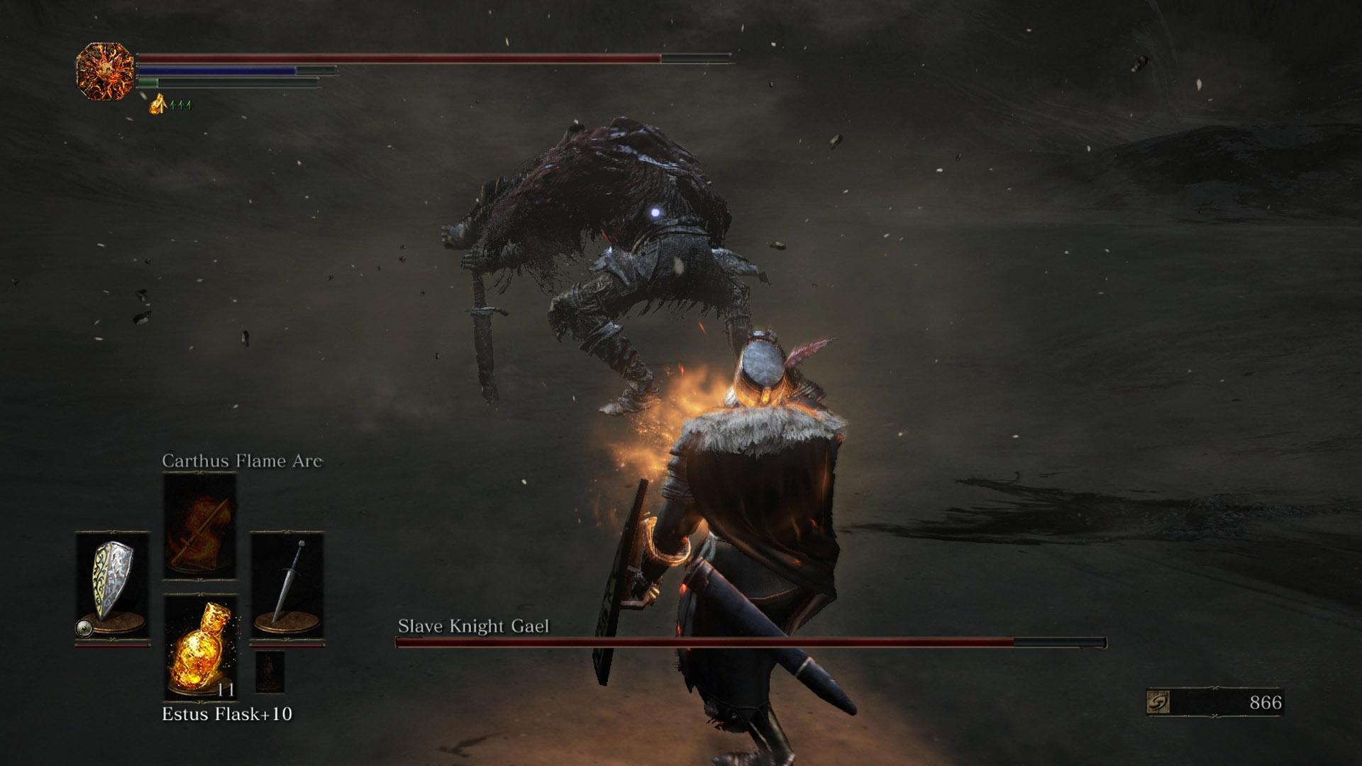 Dark Souls 3 - How to Kill Slave Knight Gael | AllGamers