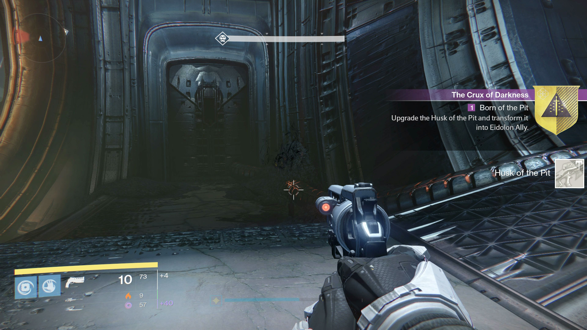 You can farm for the Husk of the Pit anywhere, but a good place is toward the end of Shrine of Oryx, where the Ogre spawns.