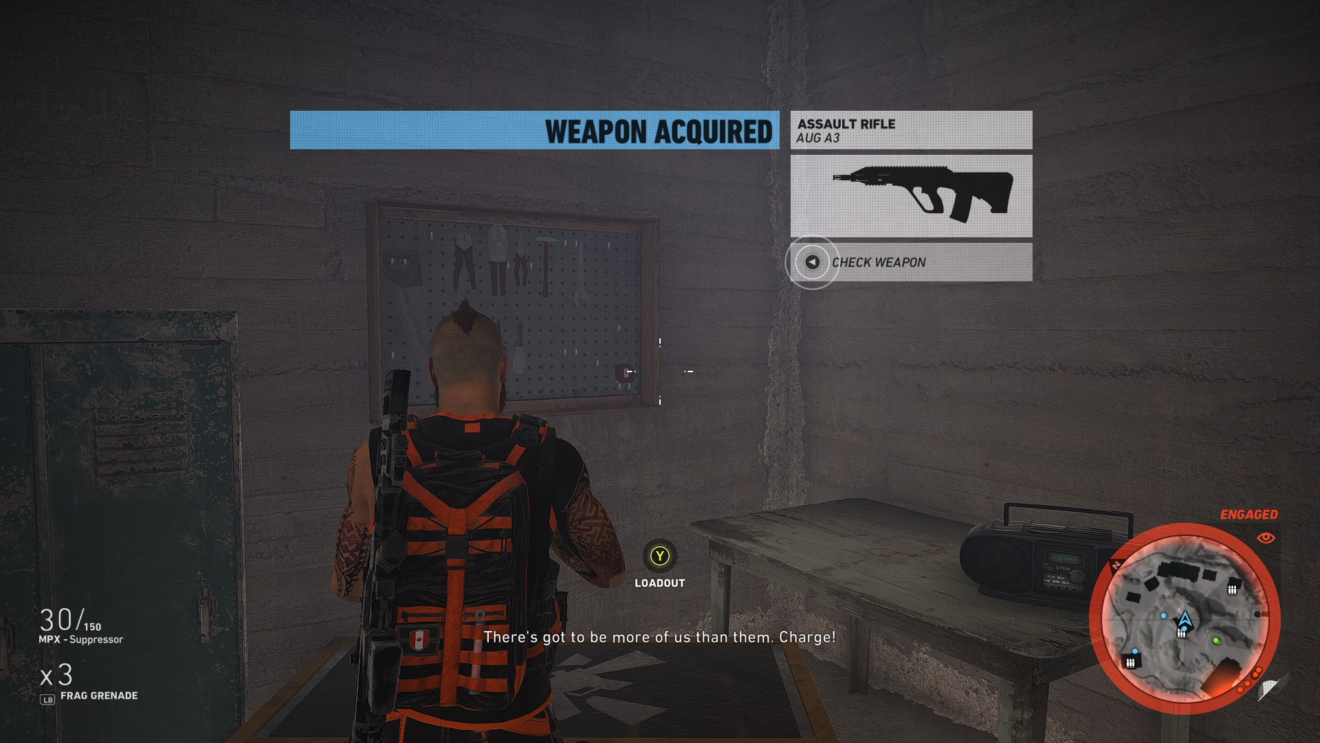 Where to find the Aug A3 in Ghost Recon Wildlands