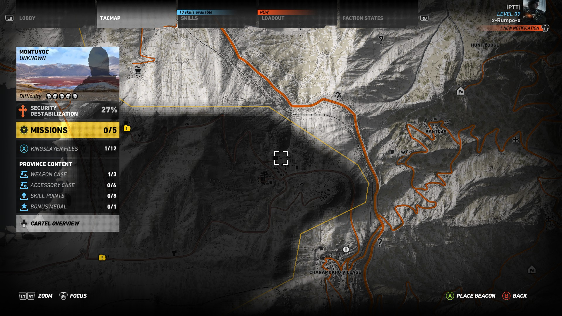 First location image - HTI location in Ghost Recon Wildlands
