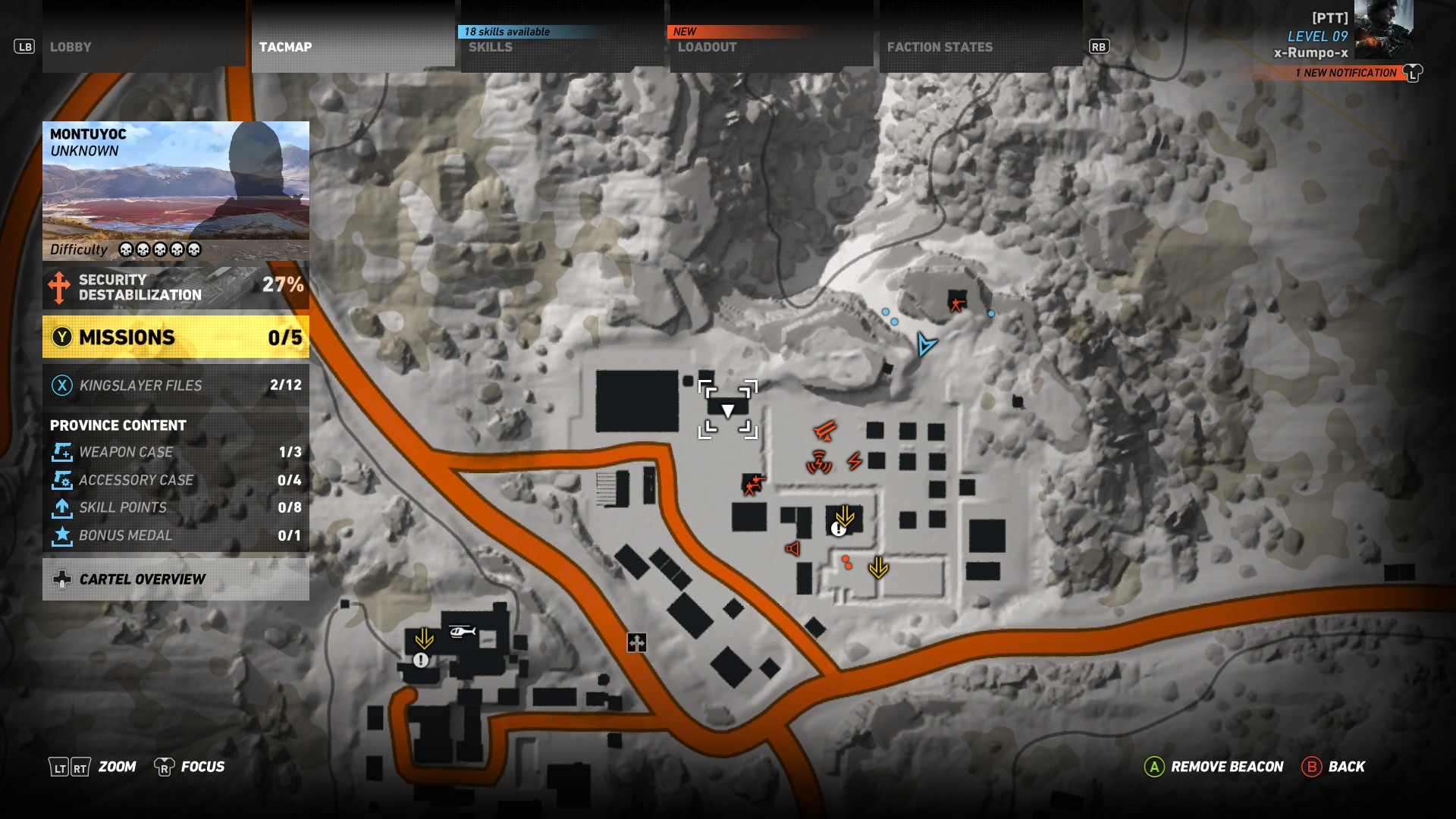 Second location - The best Sniper Rifle in Ghost Recon Wildlands