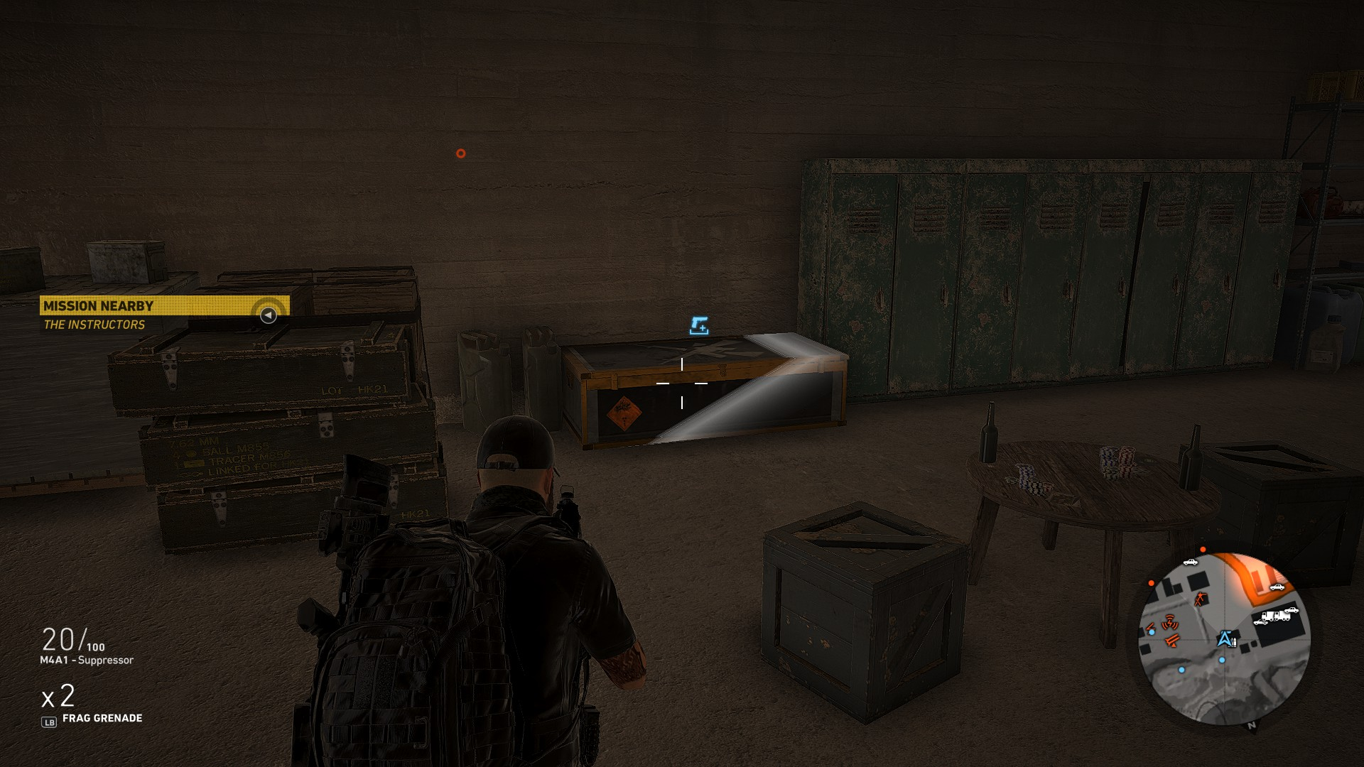 third location image - where to find the HTI Sniper Rifle