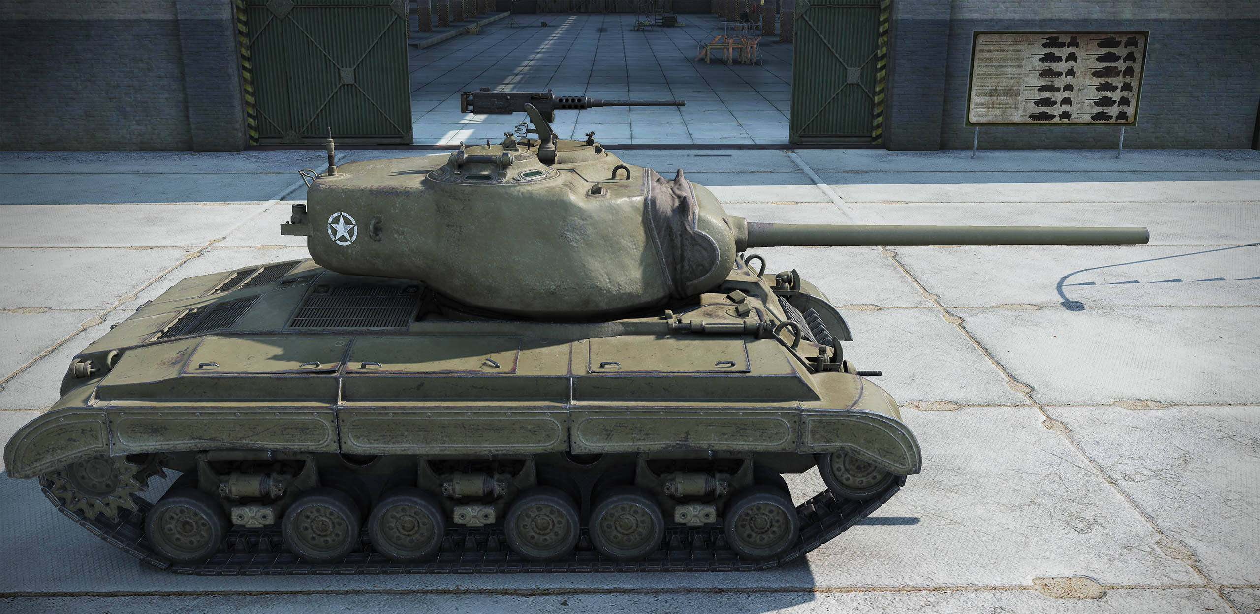 The T25 Pilot Number 1 has standard penetration and damage, but this standard is good for a Premium tank.