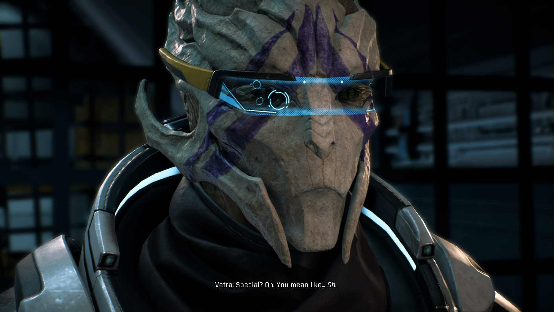 Vetra Will Join Your Squad In Mass Effect Andromeda As You Approach The Tempest For
